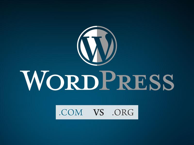 Perbedaan WordPress.org dengan WordPress.com